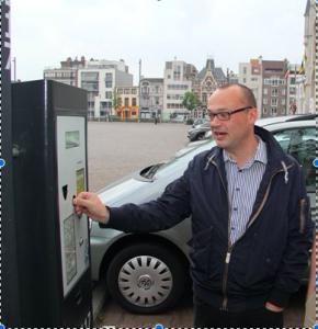 Parkeerautomaten